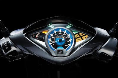 Honda Future 2012 - Mặt đồng hồ