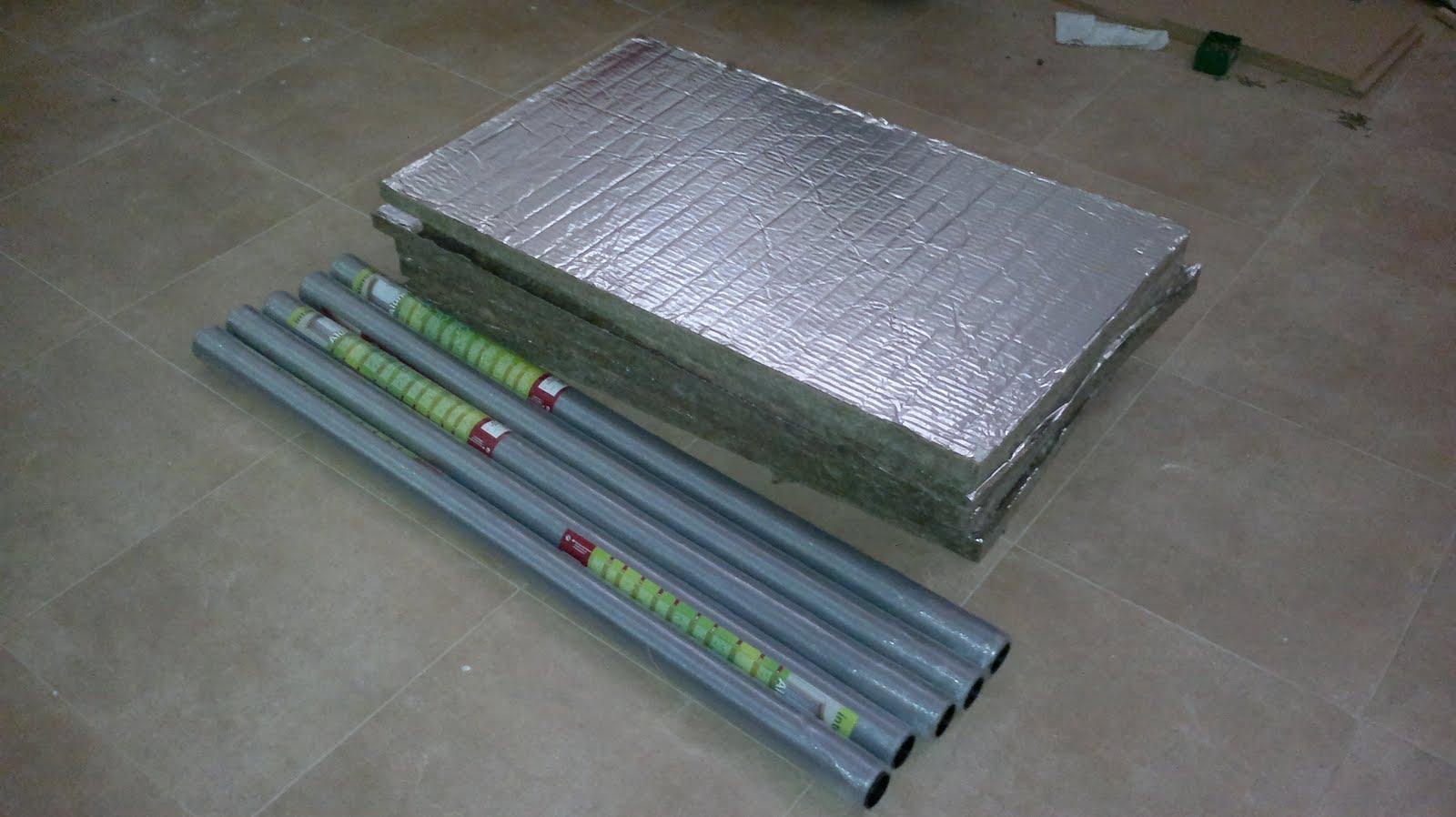 Aicanduit empezando con el proyecto de calefaccion solar - Calefaccion por aire ...