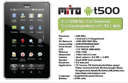 mito t500 tablet murah harga 1 jutaan mito t500 harganya