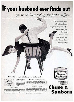 chase and sanborn coffee ad