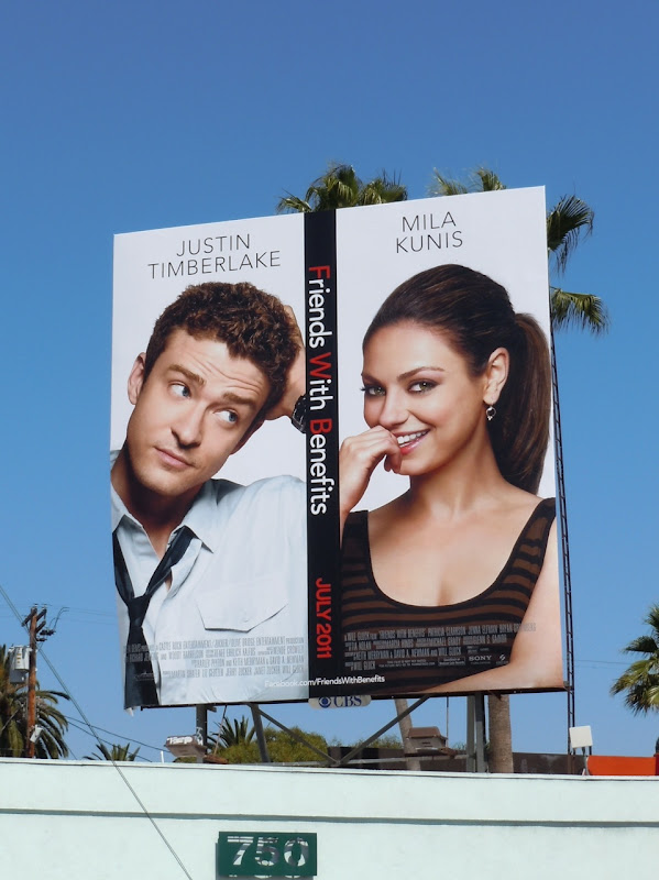 Friends with Benefits movie billboard