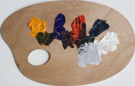 Oil Color palette