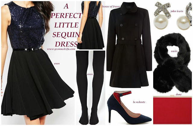 Perfect Little Sequin Dress style board