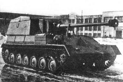 SU-85 B - Pequeño pero Matón Su-85b