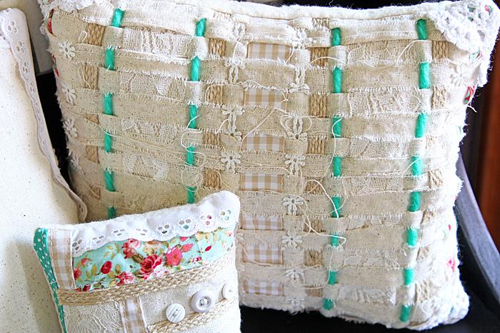 Handmade Shabby Chic Pillows : Shabby Chic Handmade Pillows a dogs life