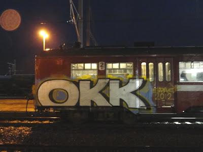 okk graffiti