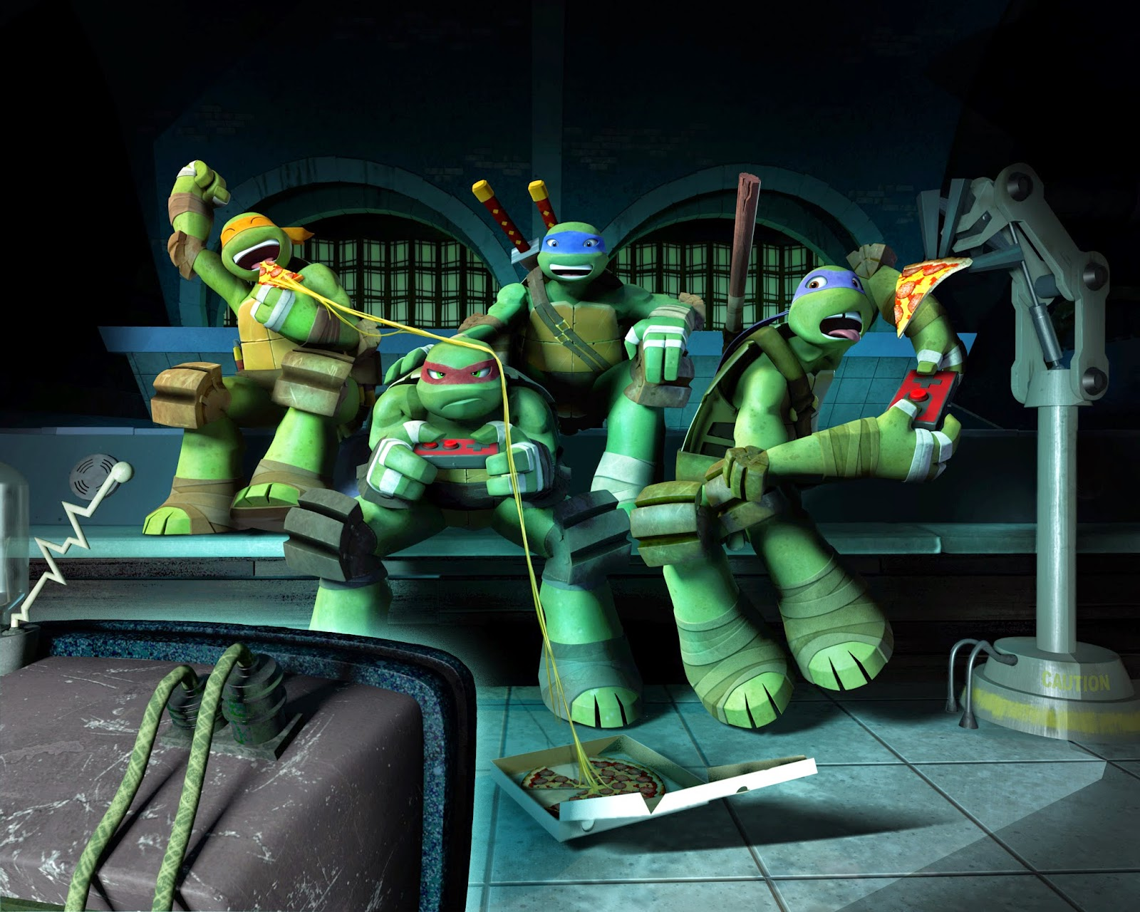 nickelodeon games teenage mutant ninja turtles