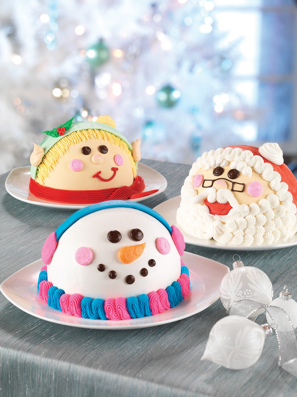 Baskin Robbins Ice Cream Cakes. Baskin Robbins sells ice cream sheet cakes that contain ice cream, frosting, and cookie crumbles or cake. You can get a small ⅓ sheet cake for about $30, or you can order a double sheet cake for $ Round cakes are available in a six inch size for $ or a .