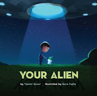 your alien by tammi sauer, illustrated by goro fujita book cover