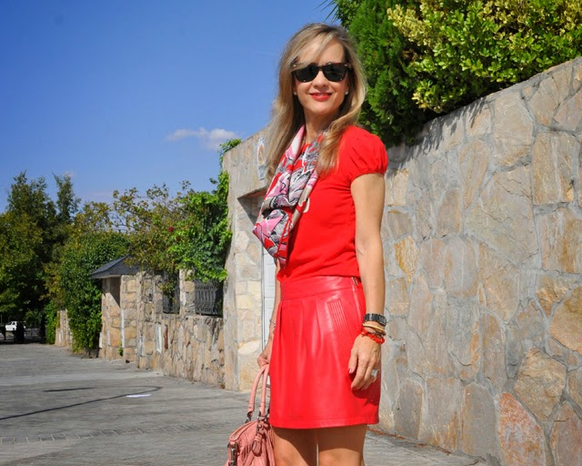 How to wear read     como combinar rojo