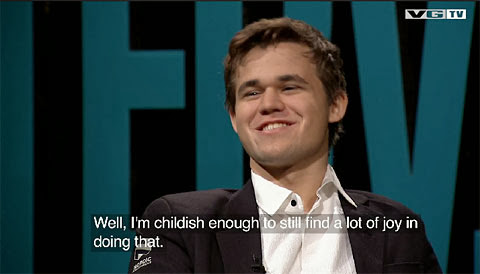 Magnus Carlsen, champion du monde d'échecs © ChessBase
