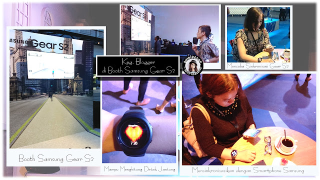 Blogger mencoba kebolehan Samsung Gear S2