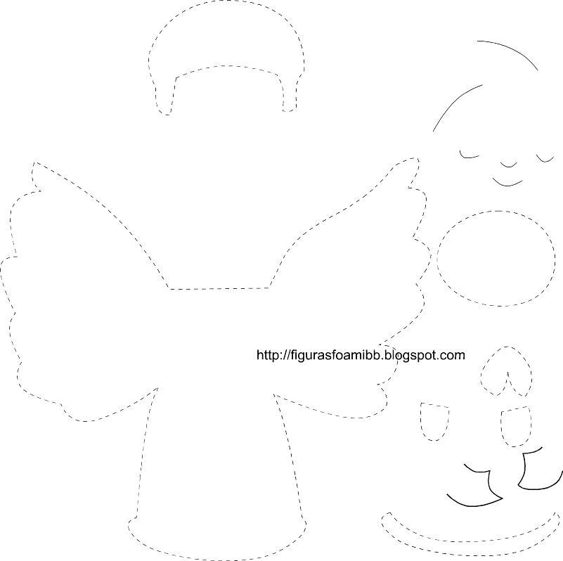 figuras y moldes de foami