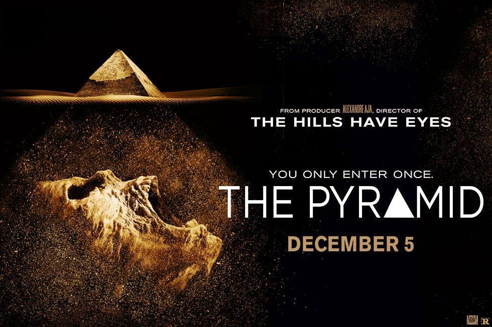 The Pyramid Movie 2014 - Poster