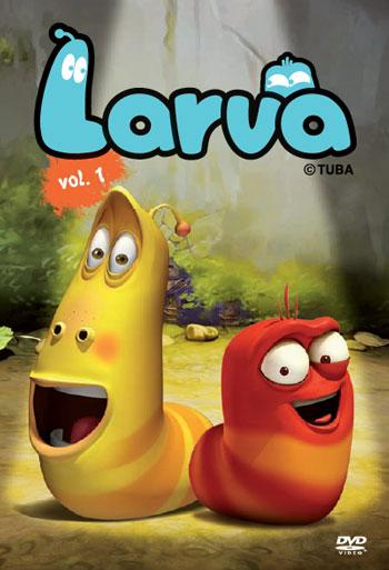 tema windows 8 - larva cartoon