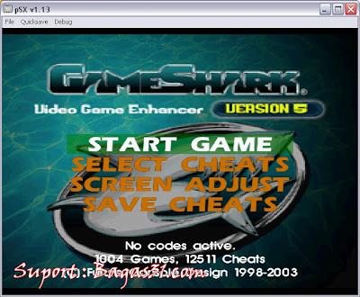 GameShark V.5   Untuk PSX 2