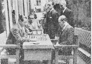 Partida de ajedrez Cherta - Ribera de la Semifinal del Campeonato de España de 1942