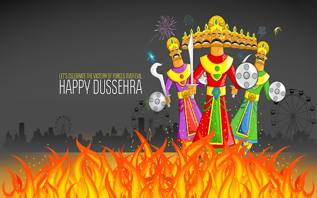 Lets Celebrate the Victory of Forces Over Evil Happy Dussehra