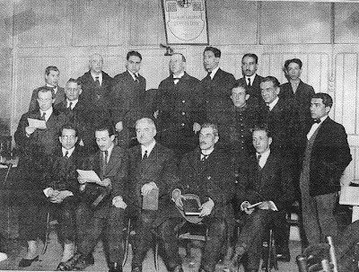 Equipo del Club Ajedrez Barcelona en 1923