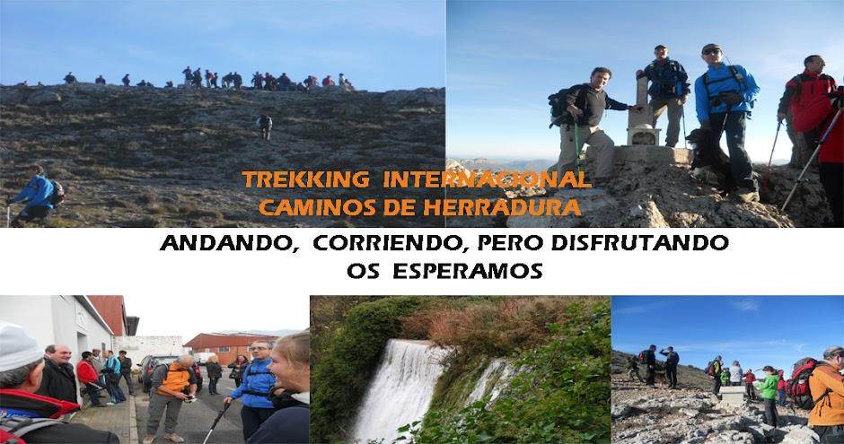 TREKKING     INTERNACIONAL CAMINOS DE HERRADURA