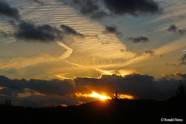 Landschaft, Sonnenuntergang