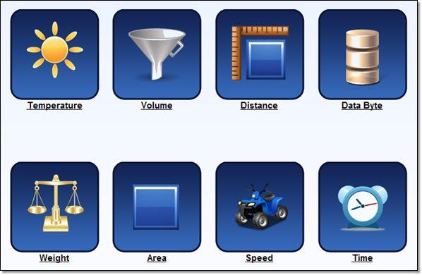 Converticious.com site de conversion d'unité en ligne