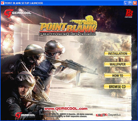 logo point blank indonesia. 2010 point blank indonesia.