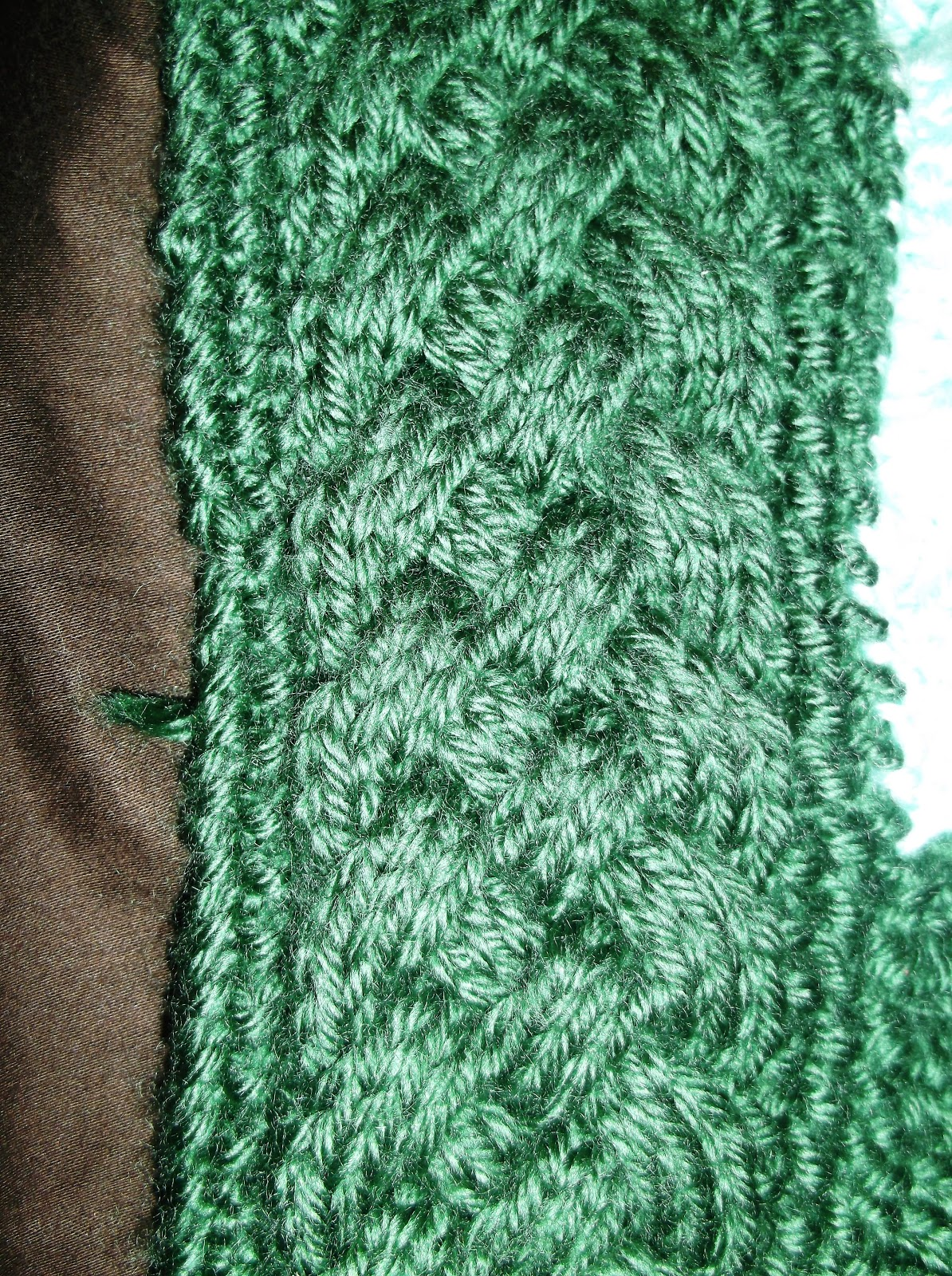 Skipping Along: Knitting Cables Day 2
