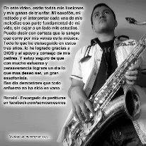 Apoya a Ronald Ayala Saxofonista con tu Me Gusta. Ronaldx Interpreta Halo de Beyoncé (Partitura) en el Concurso Iguazu en concierto Vota por Ronaldx