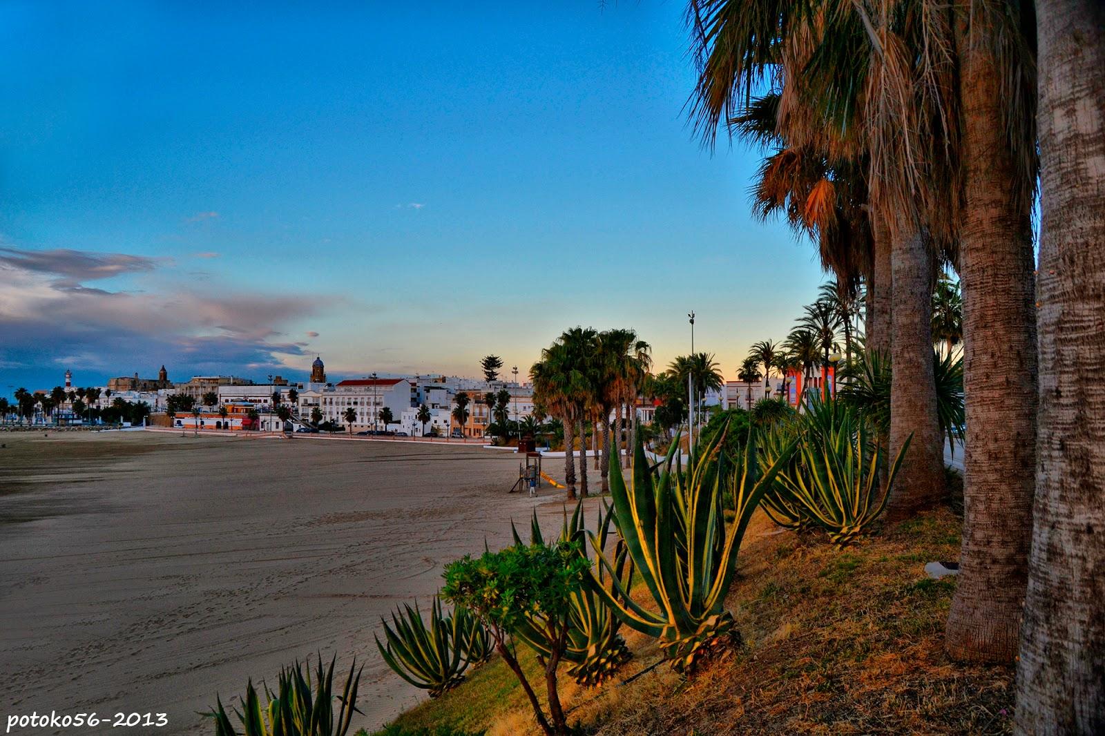 Playa del Chorrillo y Vista de Parte de Rota