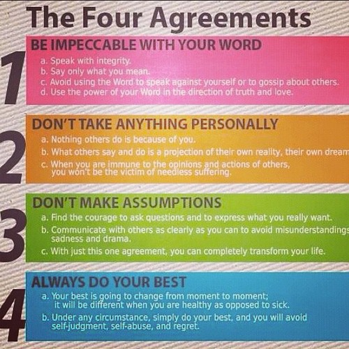 Book Review The Four Agreements Love Learning Empowerment