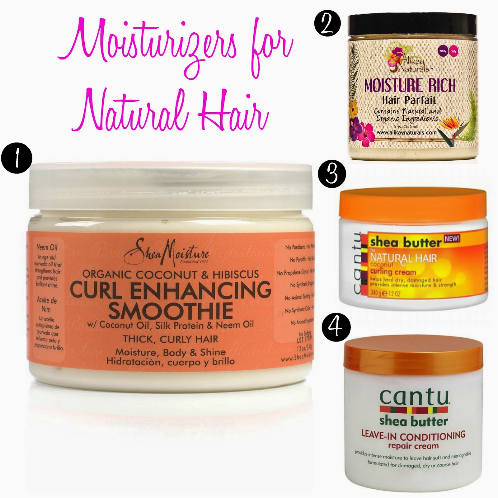 Moisturizers for Natural Hair