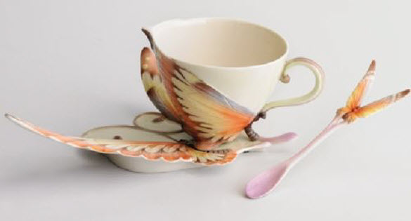 Amazing worlds tour amazing tea cups and saucer new for Cool tea cup designs