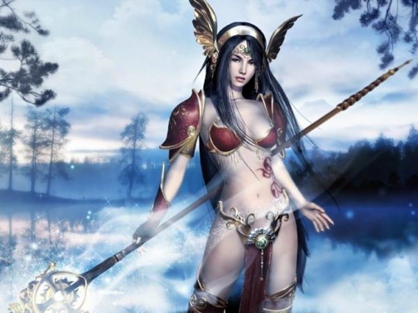 Mujer Guerrera Amazona