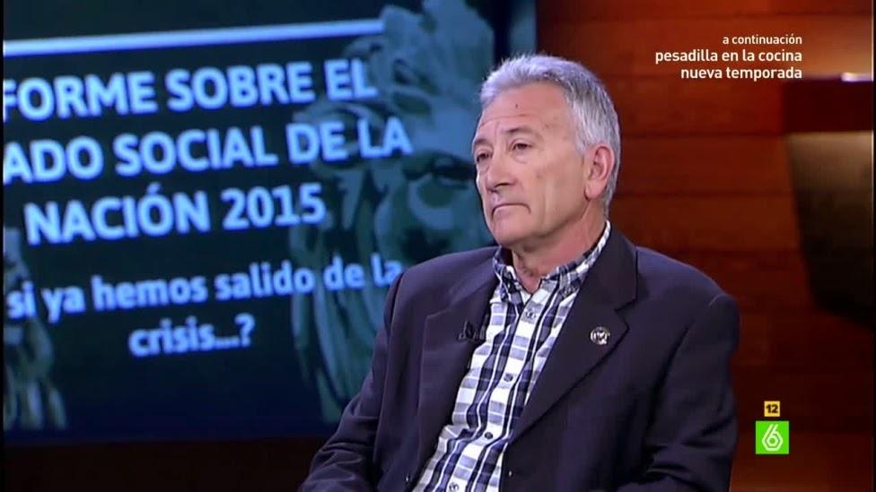 Gustavo García de Directoras Gerentes presentando informe estado social de la nación