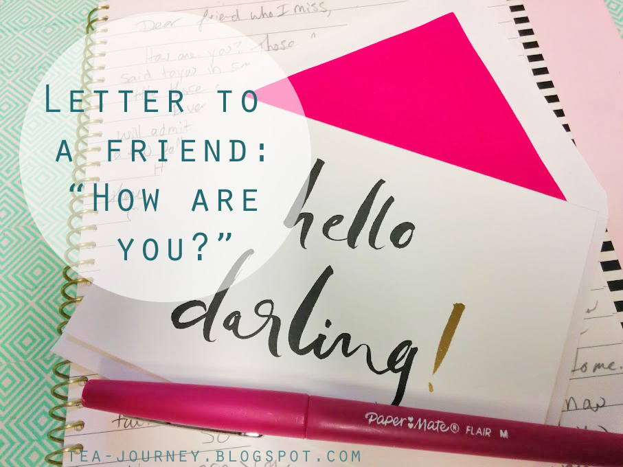 kate spade letter writing friends admitting owning faults I miss my friend