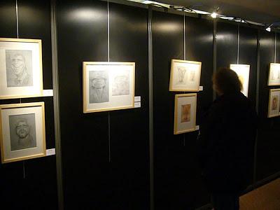 Exposition Wanted! à Quai des Bulles 2012 - Dessins de Jean Mulatier