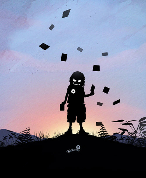 Andy Fairhurst: Los chicos y sus héroes
