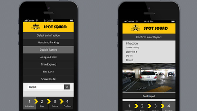 App Pays You to Spot Illegally Parked Cars