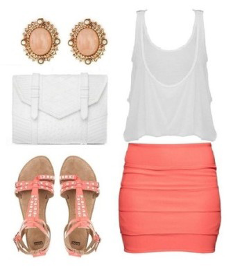 Cute Outfit For Spring