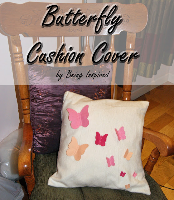 Butterfly Cushion Tutorial