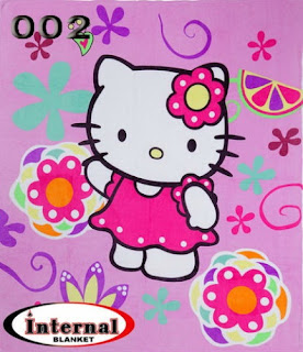 Selimut Internal - Hello Kitty http://www.grosirsprei-murah.com/