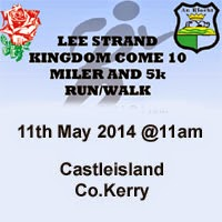 5k & 10 mile race in Castleisland, Co.Kerry
