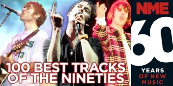 Las 100 mejores canciones de los 90 según la NME
