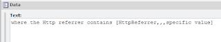 Sitecore Condition Text Field