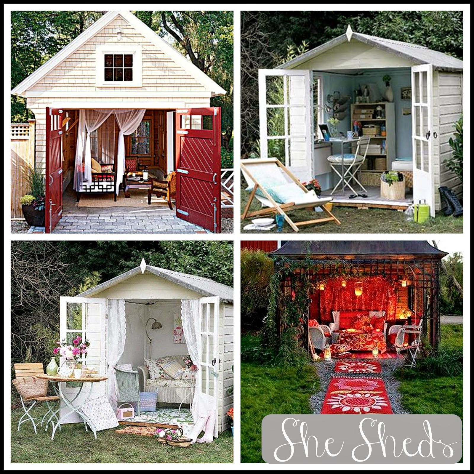 hermamas she sheds womens answer to the man cave