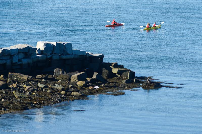 Portland Maine Kayaking Photo by Corey Templeton