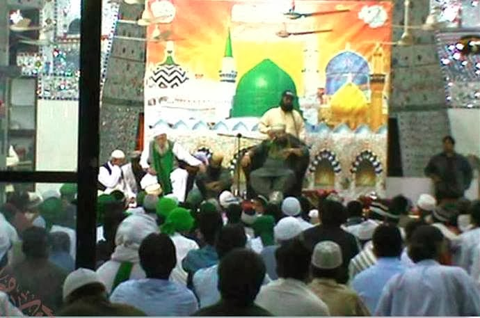 Makrani Masjid Mehfil allama kaukab noorani okarvi