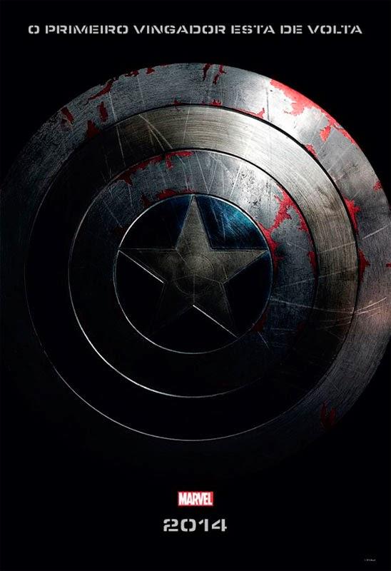 Capitão América 2 - Filme ganha cartaz nacional!