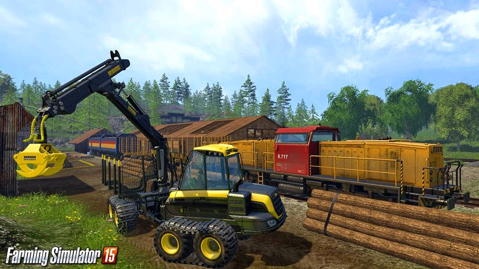لعبة Farming simulator 15